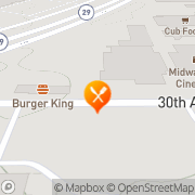 Map Burger King Alexandria, United States