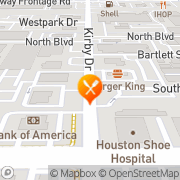 Map Amazon Grill Houston, United States