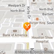 Map Tortuga Cantina - West University Houston, United States