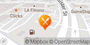 Map Jack in the Box Houston, United States