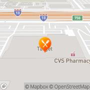 Map Pizza Hut Express Houston, United States