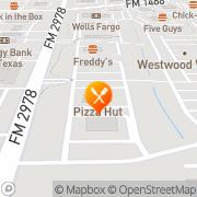 Map Pizza Hut Express Magnolia, United States