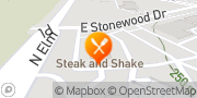 Map Steak 'n Shake Broken Arrow, United States