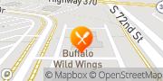 Map Buffalo Wild Wings Papillion, United States