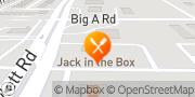 Map Jack in the Box Rowlett, United States