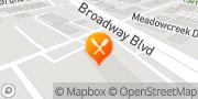 Map Pizza Hut Garland, United States