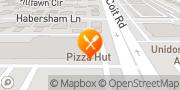 Map Pizza Hut Dallas, United States