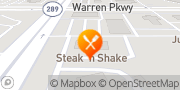 Map Steak 'n Shake Frisco, United States