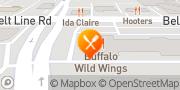 Map Buffalo Wild Wings Dallas, United States
