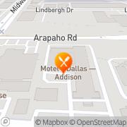 Map Denny's Restaurant Addison, United States