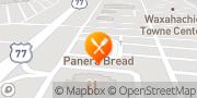 Map Panera Bread Waxahachie, United States