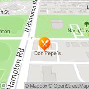 Map Burger King Dallas, United States