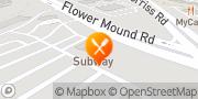 Map Pizza Hut Flower Mound, United States