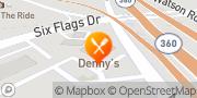 Map Denny's Arlington, United States
