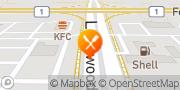 Map KFC Winnipeg, Canada