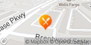 Map Pizza Hut Fort Worth, United States