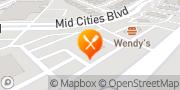 Map Boston Market Hurst, United States