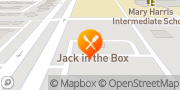 Map Jack in the Box Fort Worth, United States