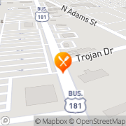 Map New China Super Buffet Beeville, United States