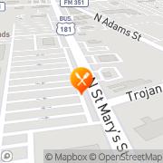 Map Mi Familia Restaurant Beeville, United States