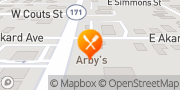 Map Arby's Weatherford, United States