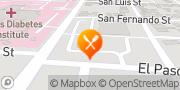 Map Jack in the Box San Antonio, United States