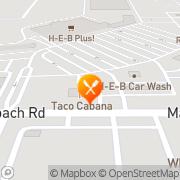 Map Taco Cabana San Antonio, United States