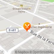 Carte de S.I.P. S.A.R.L. - Services Industriels et Portuaires Le Havre, France