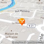 Carte de BOULANGERIE PATISSERIE COLLONGUES ET FILS Auch, France