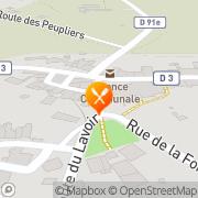 Carte de GEL PAT SA Bussière-Badil, France