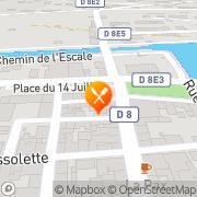 Carte de Pizzeria des Bastides Lalinde, France