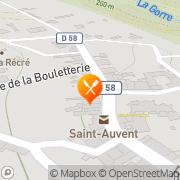 Carte de LE TY VORN Saint-Auvent, France