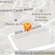 Carte de Absire - Sevrey et Fils S.A. Canteleu, France