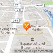 Carte de AMICALE LAIQUE DEVILLE-MAROMME Maromme, France