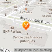 Carte de Rubis Terminal S.A. Le Grand-Quevilly, France
