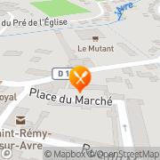 Carte de Rémy Kaps S.A. Saint-Rémy-sur-Avre, France