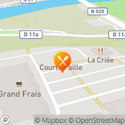Carte de Grill Courtepaille Limoges, France
