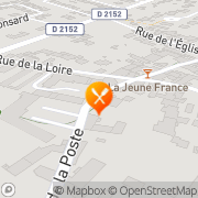Carte de Rodriguez S.A. La Chaussée-Saint-Victor, France