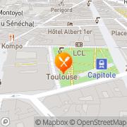 Carte de S.N.C.F. - Société Nationale de Chemins de Fer Français Toulouse, France