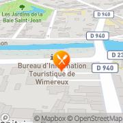 Carte de Routes et Travaux du Nord S.A. Wimereux, France