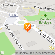 Carte de ASCENSEURS SOULIER Trappes, France