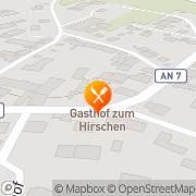 Karte Zum Hirschen Insingen, Deutschland