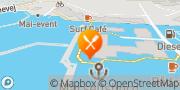 Kort Restaurant Seafood Århus, Danmark