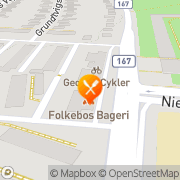 Kort Grill Corner Odense, Danmark
