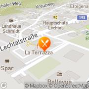 Karte La Terrazza Elbigenalp, Österreich