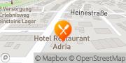 Karte Hotel Adria Zirndorf, Deutschland