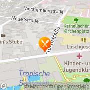 Karte Burger King Erlangen, Deutschland