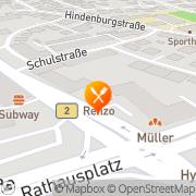 Karte Pizzeria Renzo Garmisch-Partenkirchen, Deutschland