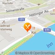 Karte Japanisches Restaurant KAI Innsbruck, Österreich