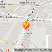Karte Pizzamann S.S Innsbruck, Österreich